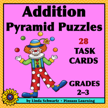 NEW! ADDITION PYRAMID PUZZLES