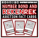 ADDITION REKENREK AND NUMBER BOND CARDS