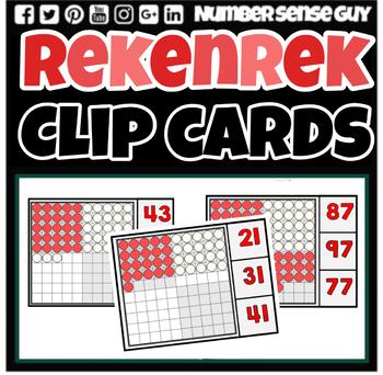 REKENREK CLIP CARDS