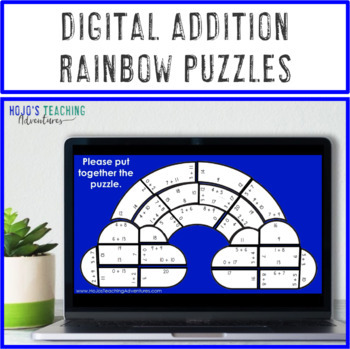 "ADDITION Rainbow Activities | Use for Martin Luther King ""I Have a Dream"""