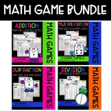 Roll & Cover Math Games! {BUNDLE ALL 4 BASIC OPERATIONS}