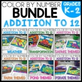 ADDITION TO 12 COLOR BY NUMBER BUNDLE THEMED RESOURCES