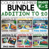 ADDITION TO 20 COLOR BY NUMBER BUNDLE Themed