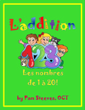 ADDITION UNIT Numbers 1 - 20, Lessons, Worksheets, Activities