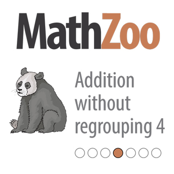 ADDITION WITHOUT REGROUPING 4: Double digit addition