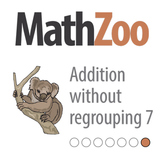 ADDITION WITHOUT REGROUPING 7: Fill the blanks in the equations