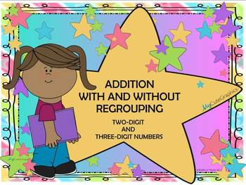Two and Three Digit Addition -Regrouping  (SMARTBOARD UNIT)