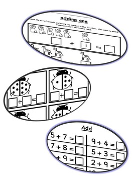 ADDITION WORKSHEETS PREVIEW