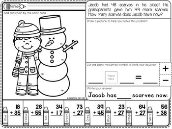 Word Problems Winter