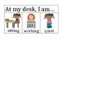 ADHD Classroom Management Behavior Chart for Desk