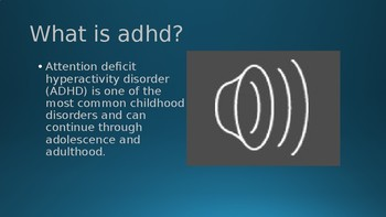 ADHD In the Classroom