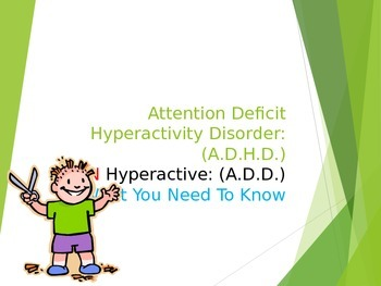 ADHD Lesson for your class - Attention Deficit Disorder Tips