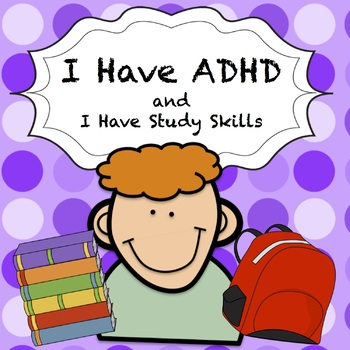 ADHD Social Story - I Can Study For A Test!