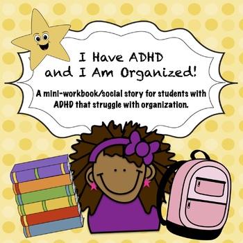 ADHD Social Story + Workbook