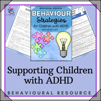 ADHD - Supporting Children with ADHD