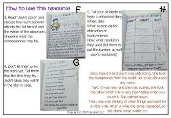 ADHD and Behavior Management: Self-regulation Mini Book