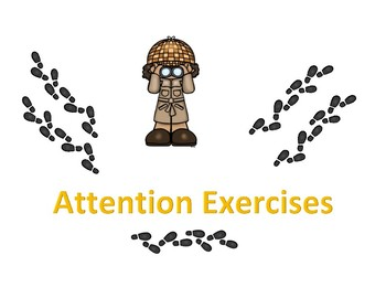 ADHD attention practice