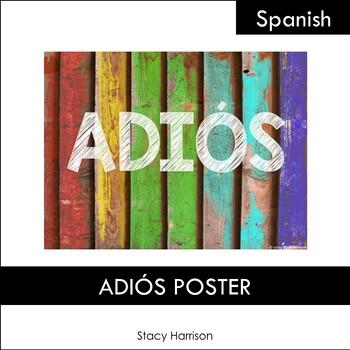 ADIÓS Poster