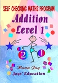 ADITION Level 1 Self Checking Maths Program