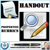 ADJECTIVE CLAUSES: HANDOUTS