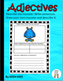 ADJECTIVES - DESCRIBE THE MONSTERS