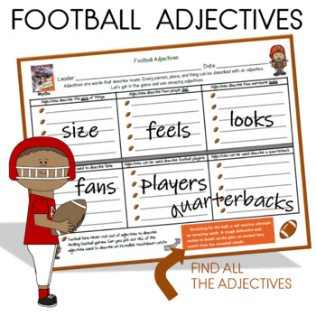 ADJECTIVES: Get in the Game