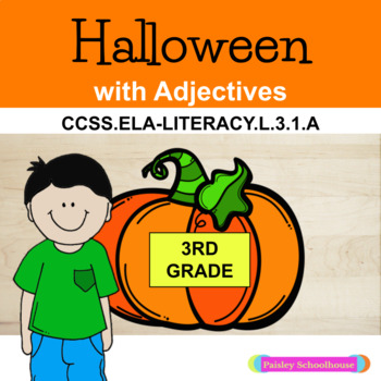ADJECTIVES - Halloween With Adjectives