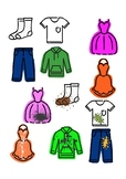 ADL/Vocational: Laundry Sorting Game