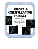 ADOPT-A-CONSTELLATION- research stars in common constellations EDITABLE