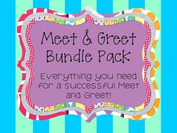 ADORABLE MEET AND GREET BUNDLE PACK - 50% OFF!