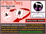 AP MUSIC THEORY Binary Form Analysis Complete Topic
