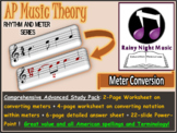 ADVANCED MUSIC THEORY Complete Topic RHYTHM and METER Conversion