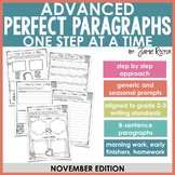 ADVANCED Perfect Paragraphs: November Edition