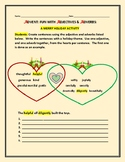 ADVENT: A HOLIDAY GRAMMAR ACTIVTY