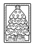 ADVENT CALENDAR COLORING, 12 PAGES, ADVENT ACTIVITIES, CHRISTMAS ACTIVITIES