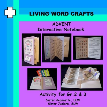 ADVENT Interactive Notebook for Grades 2 & 3