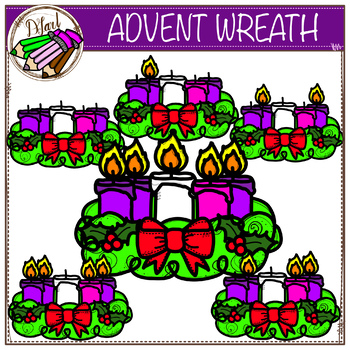 Advent wreath clipart 2 - WikiClipArt