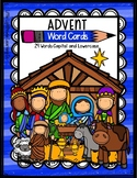 ADVENT Word Cards {Capital & Lowercase}