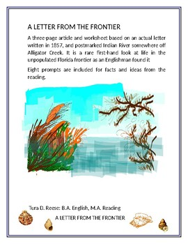 ADVENTURES IN FLORIDA HISTORY:  A Letter from the Frontier