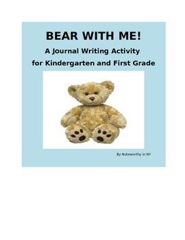 Journal Writing Activity for Kindergarten and First Grade