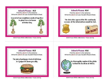 ADVERB PIZZAZZ • PRACTICE AND REVIEW • GRADES 4–6