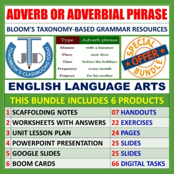 ADVERBIAL PHRASE: BUNDLE