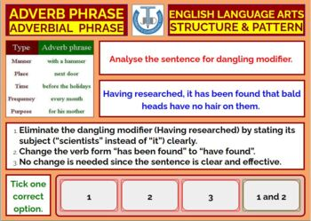 ADVERBIAL PHRASES: LESSON AND RESOURCES