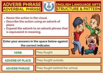 ADVERBIAL PHRASES: READY TO USE LESSON PRESENTATION