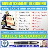 ADVERTISEMENT DESIGN TASK CARDS AND EXERCISES