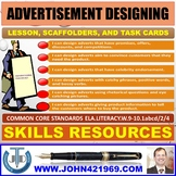 ADVERTISEMENT DESIGNING LESSON AND RESOURCES