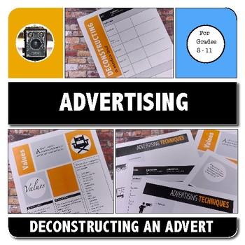 ADVERTISING TECHNIQUES - MEDIA LITERACY ACTIVITY