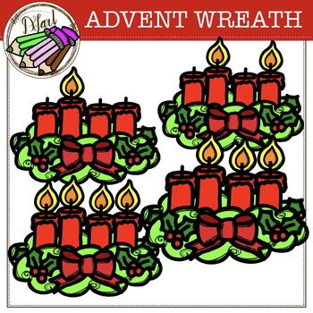 ADVENT WREATH - GIF {free}