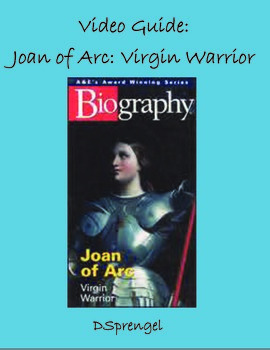 A&E Biography Joan of Arc Virgin Warrior (2004) Video Movie Guide