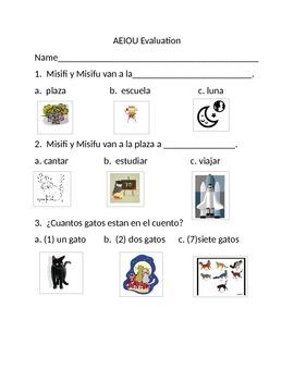 AEIOU Spanish Evaluation